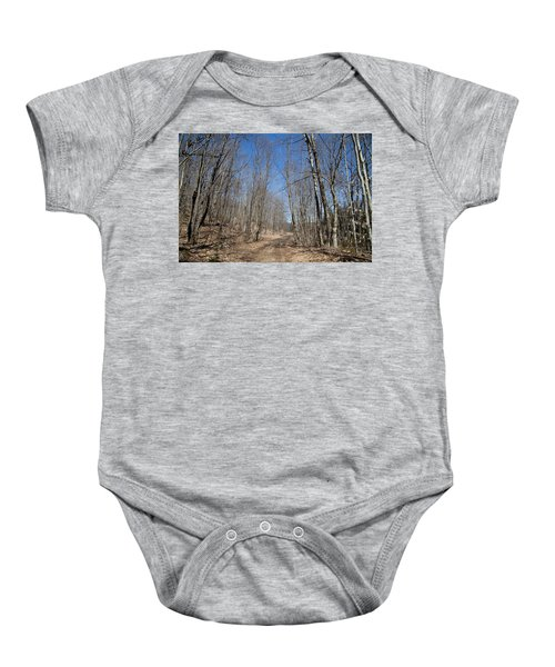 Baby Onesie featuring the photograph Mud Season In The Adirondacks by David Patterson