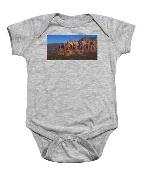 Munds Mountain Panorama Baby Onesie