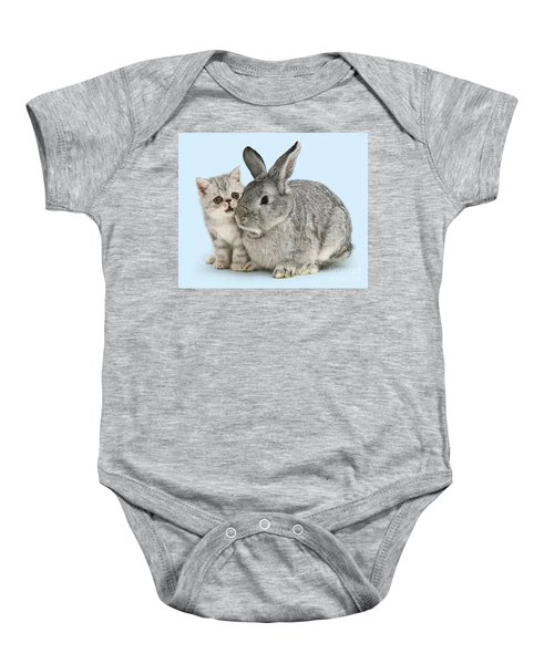 My Bunny Little Friend Baby Onesie