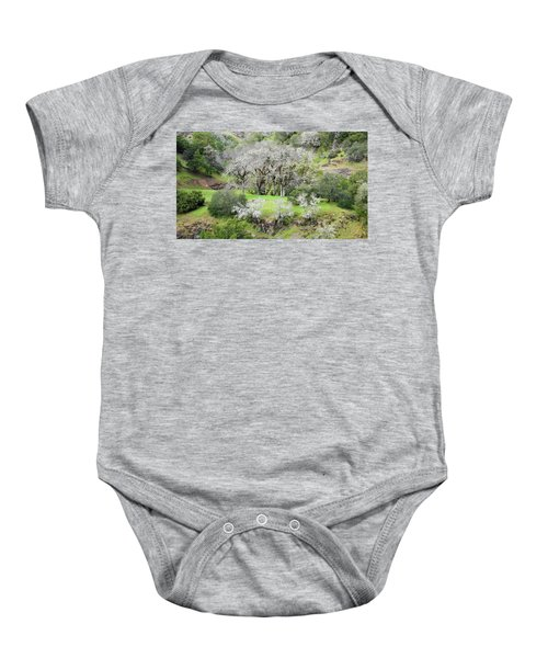 Mysterious Landscape In Sonoma County Baby Onesie