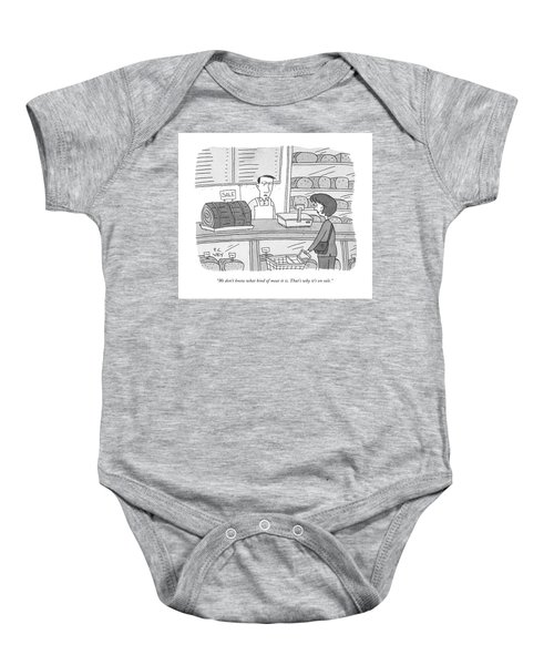 Mystery Meat On Sale Baby Onesie