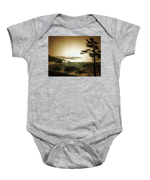 Mystic Landscapes Baby Onesie