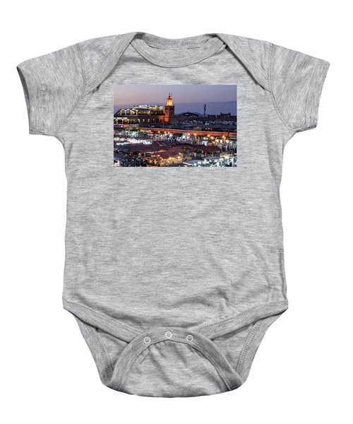 Mystical Marrakech Baby Onesie