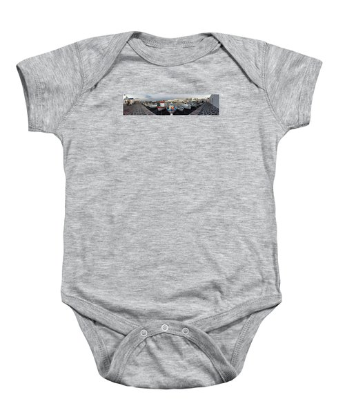 Baby Onesie featuring the photograph Naoussa Village Island Greece by Colette V Hera  Guggenheim