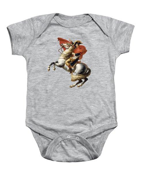 Napoleon Bonaparte On Horseback Baby Onesie