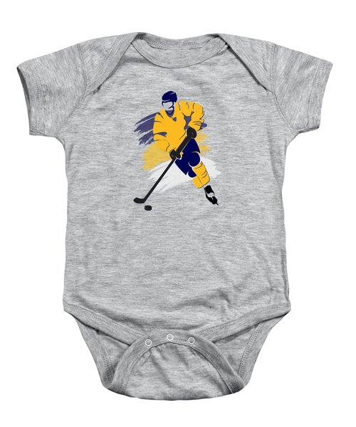 Nashville Predators Player Shirt Baby Onesie