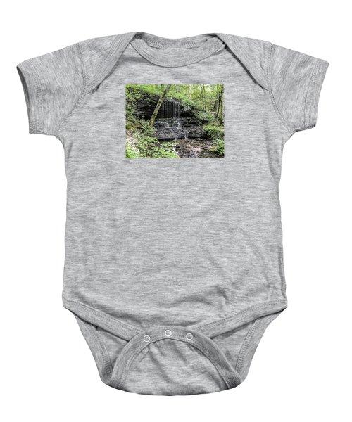 Natchez Trace Waterfall Baby Onesie