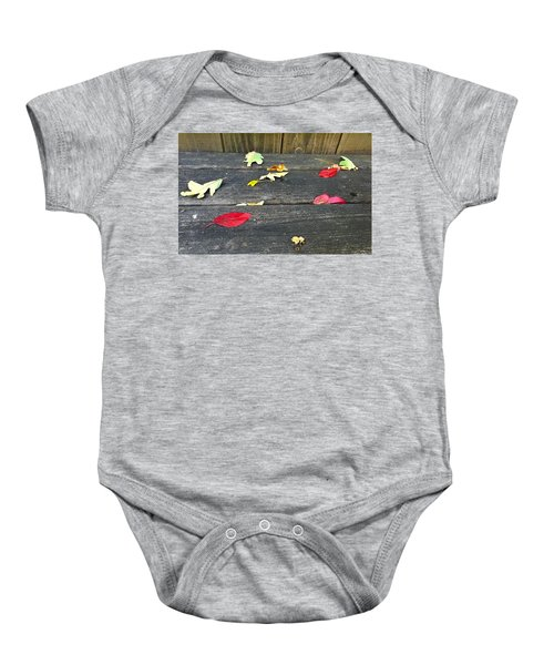 Natural Fall Baby Onesie