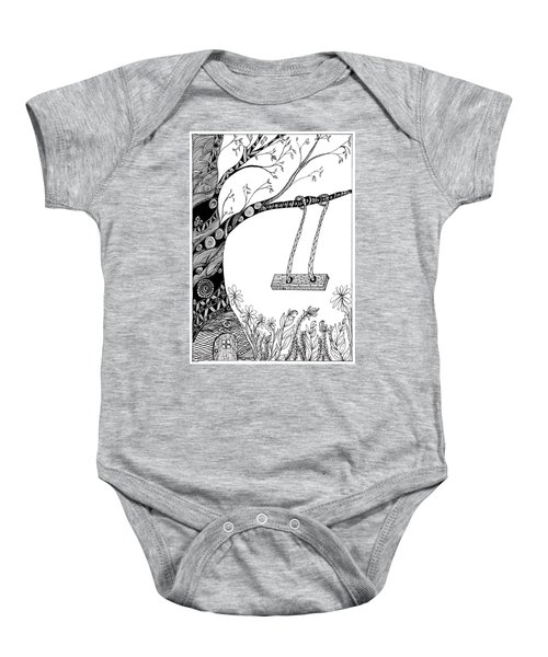 Nature Is Calling Come Out And Play Baby Onesie