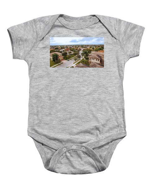 Neighborhood Aerial Baby Onesie