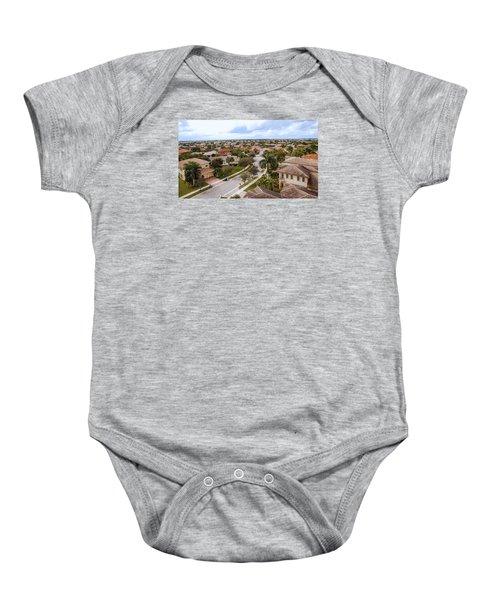 Neighborhood Aerial Baby Onesie