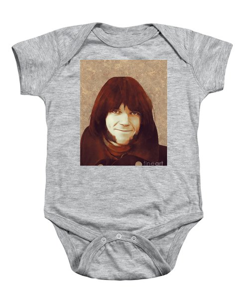 Neil Young, Music Legend Baby Onesie