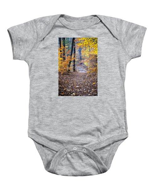 New Hampshire Woods Baby Onesie