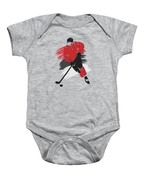 New Jersey Devils Player Shirt Baby Onesie