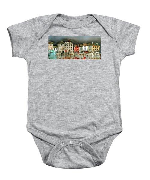 New Ross Quays Panorama Baby Onesie