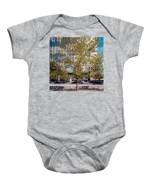 Trees On Fed Plaza Baby Onesie
