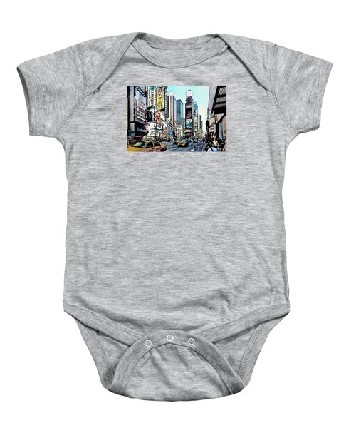 New York Times Square Baby Onesie