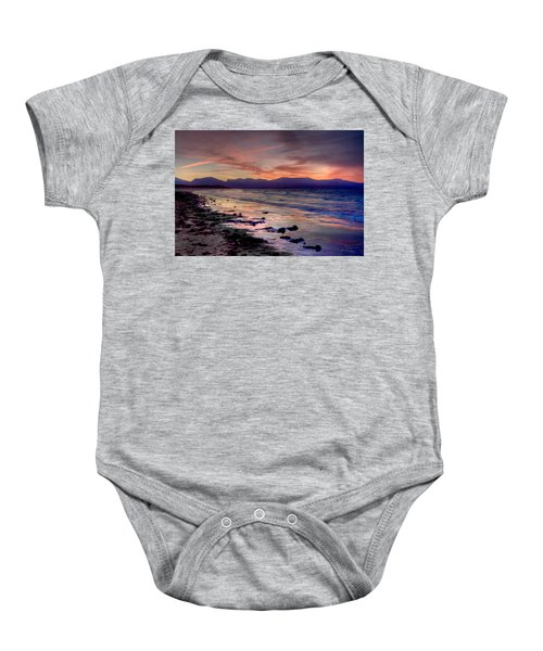 Newborough Sunrise Baby Onesie