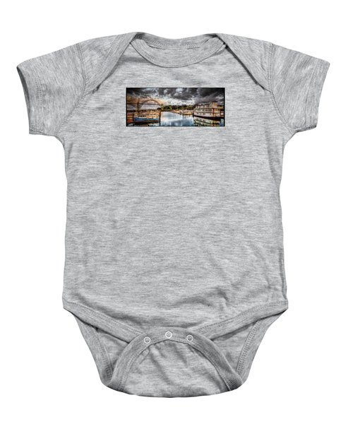 Newport Belle At Dawn Baby Onesie