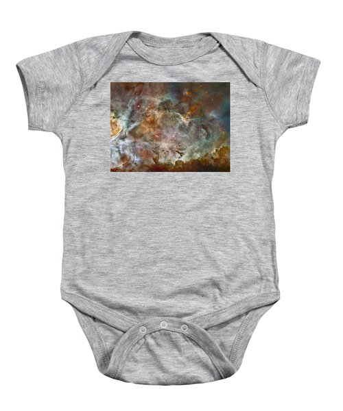 Ngc 3372 Taken By Hubble Space Telescope Baby Onesie
