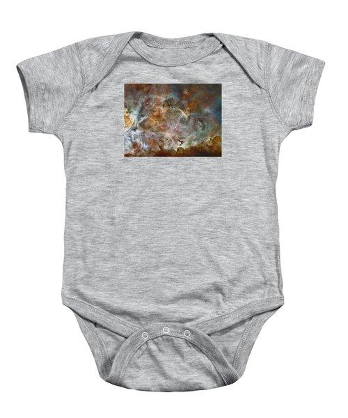 Ngc 3372 Taken By Hubble Space Telescope Baby Onesie