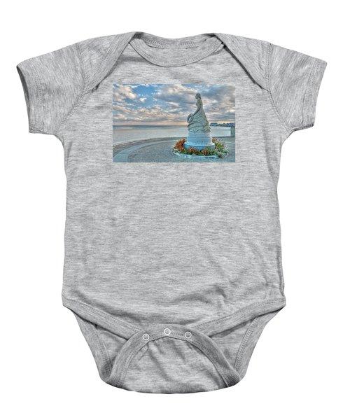 New Hampshire Marine Memorial Baby Onesie