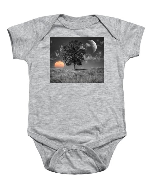 Night And Day Baby Onesie