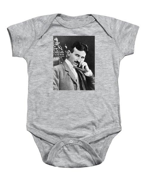 Nikola Tesla Baby Onesie