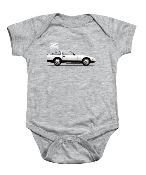 Nissan 300zx 1984 Baby Onesie by Mark Rogan