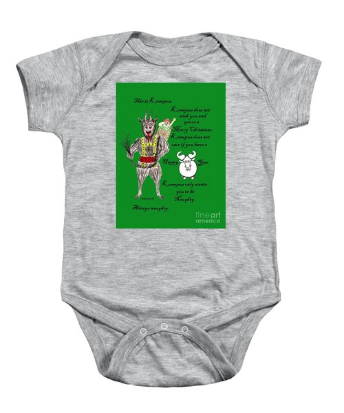 No Happy Gnu Year Baby Onesie