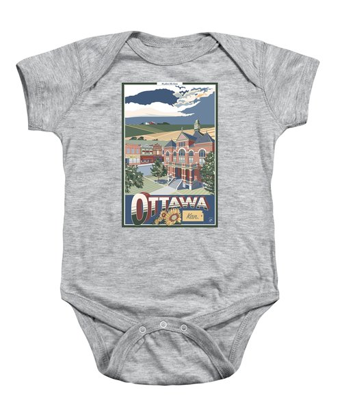 No Place Like Home Baby Onesie