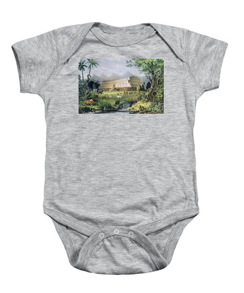 Noahs Ark Baby Onesie by Currier and Ives