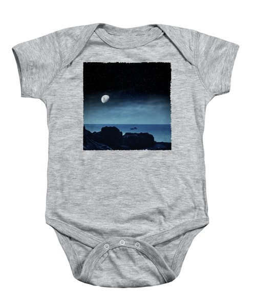 Nocturnal Sea Baby Onesie