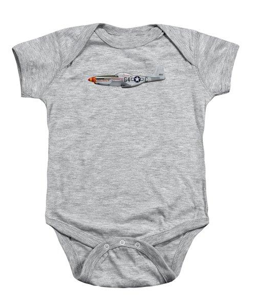 Nooky Booky I V - P-51 D Mustang Baby Onesie