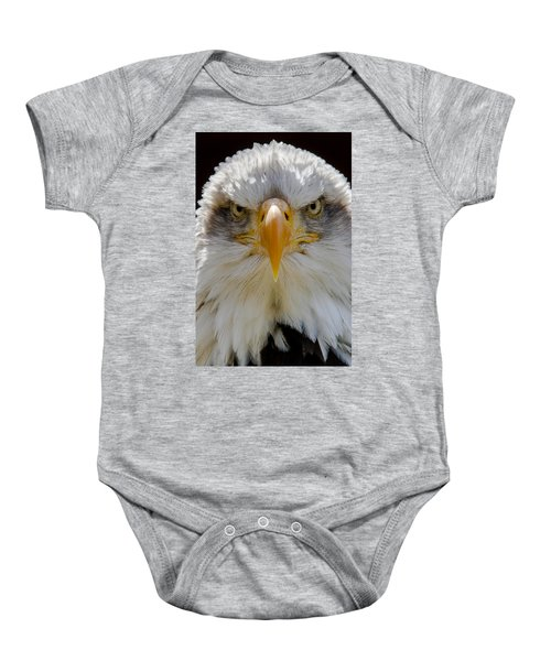 North American Bald Eagle  Baby Onesie