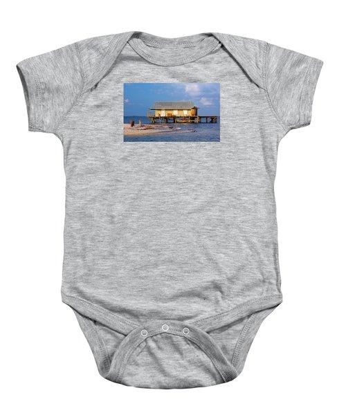 North Captiva Island Last Stilt House Standing Baby Onesie