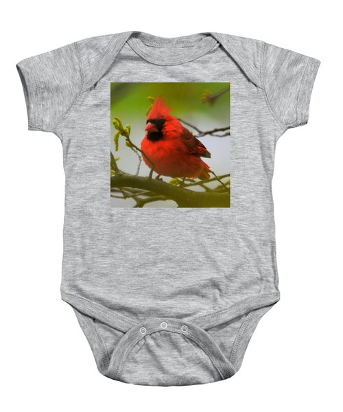 North Carolina Cardinal Baby Onesie