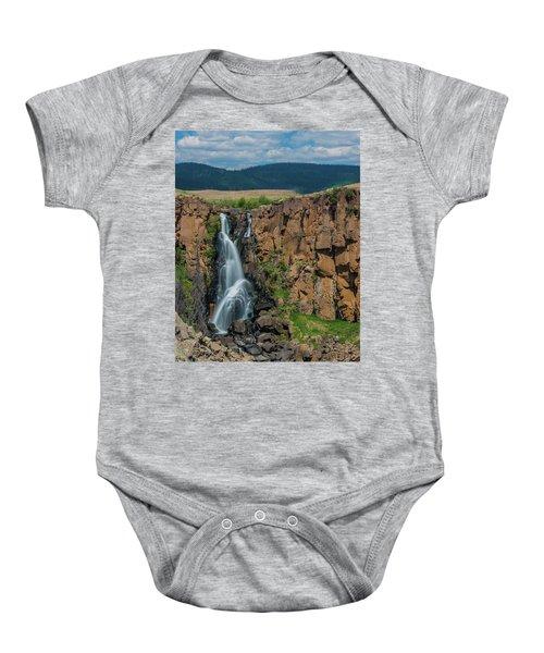 North Clear Creek Falls, Creede, Colorado Baby Onesie
