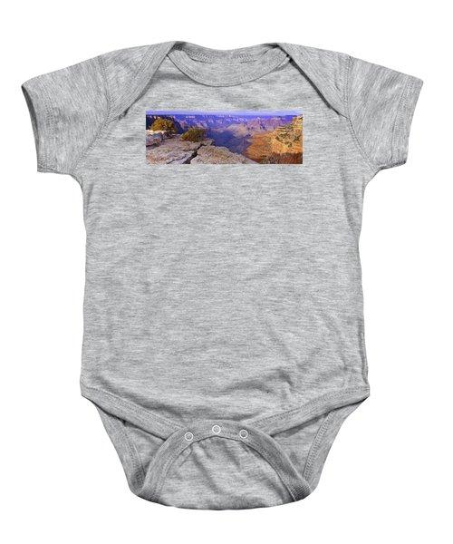 North Rim Grand Canyon Baby Onesie