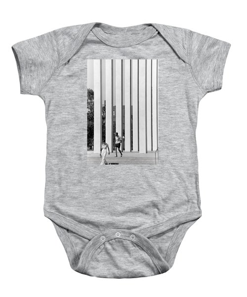 Northwestern National Life Columns Baby Onesie