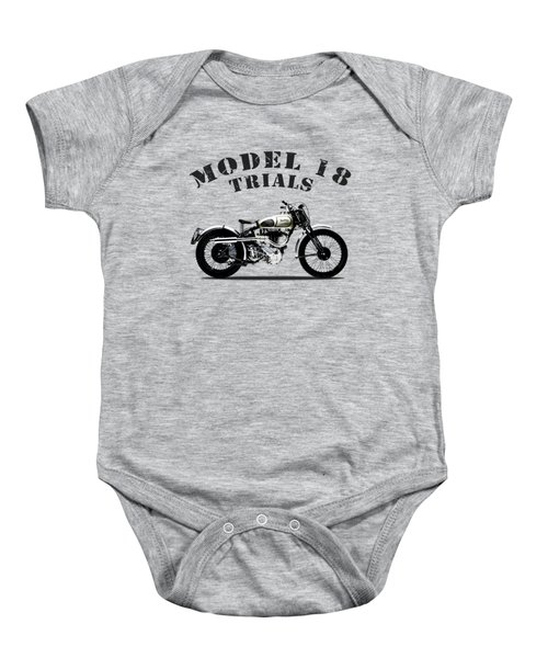 Norton Model 18 Trials 1938 Baby Onesie