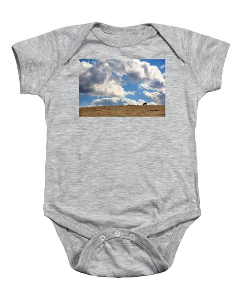 Not A Cow In The Sky Baby Onesie