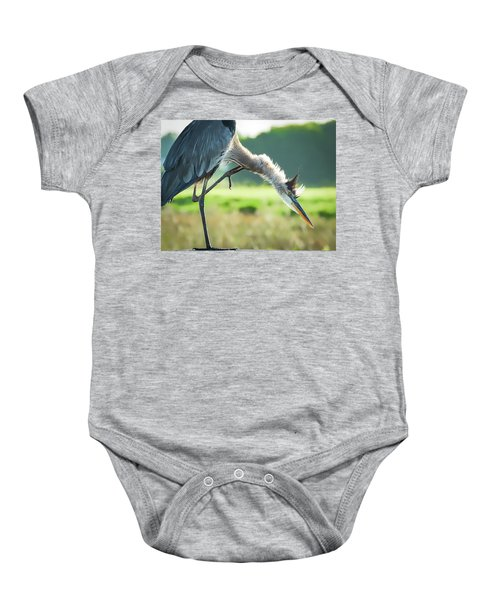 Nothing Like A Good Scratch Baby Onesie