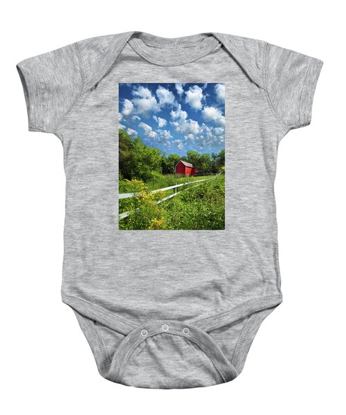 Noticing The Days Hurrying By Baby Onesie