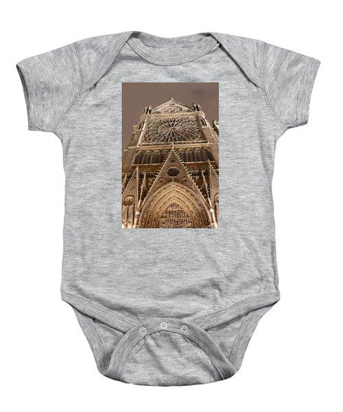Notre Dame North Baby Onesie