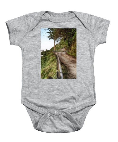 Nowhere But Up Baby Onesie