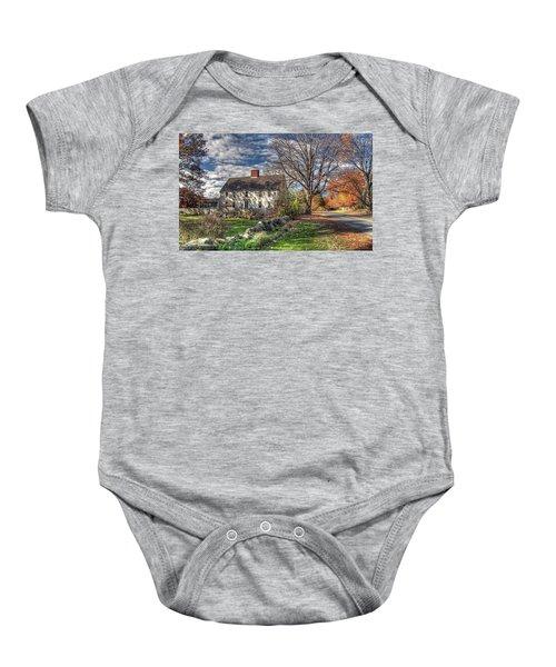 Noyes House In Autumn Baby Onesie