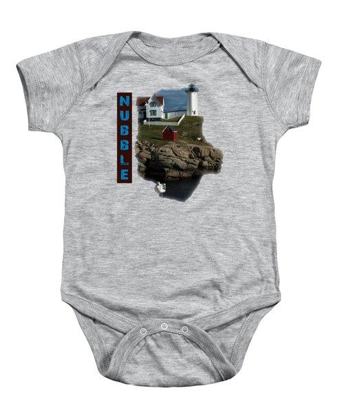 Nubble T-shirt Baby Onesie by Mim White