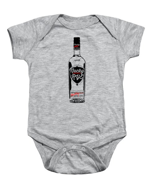 Nucky Thompson Boardwalk Rye Whiskey Tee Baby Onesie