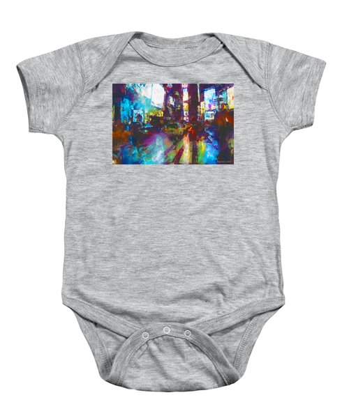 Nyc Canyon Baby Onesie